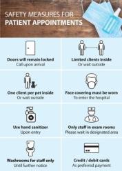 St Vital Vet Safety Measures